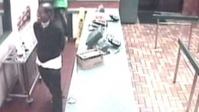 Sheriff's deputies say a man wearing a President Barack Obama mask robbed a Lake Park Burger King early Tuesday morning.