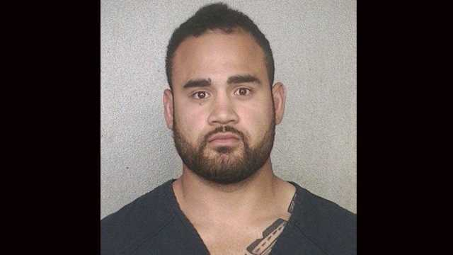Miami Dolphins linebacker Koa Misi was arrested on a warrant from California.