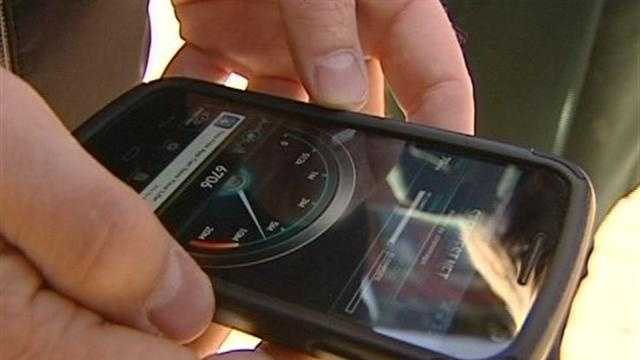 Burlington Verizon users are noticing a boost in their cell service in recent weeks.