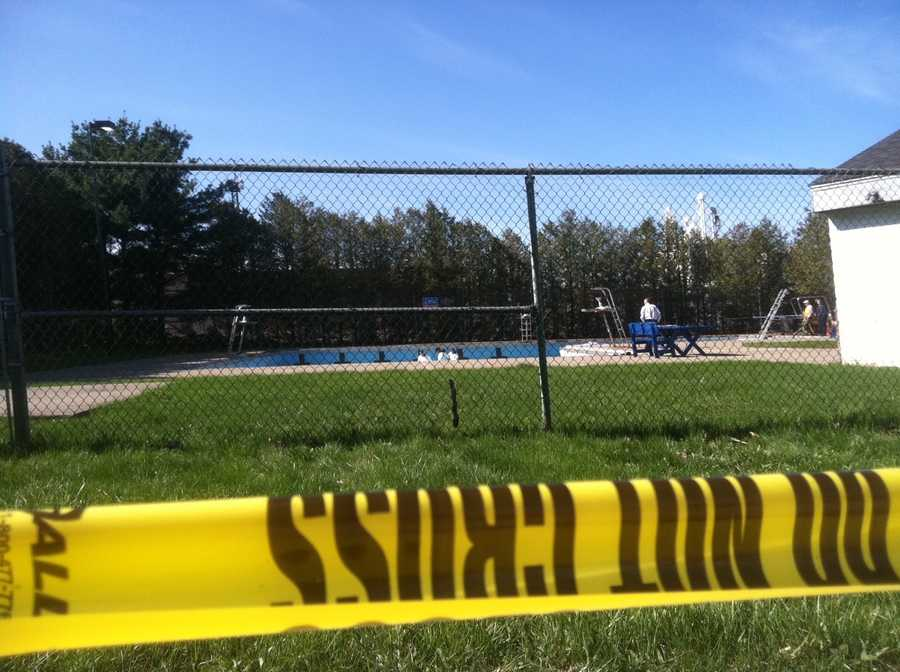 The body of Chris Davis was discovered Monday in the St. Albans city pool. Police are unsure of how he got there and an autopsy report ruled the cause and time of death inconclusive. Investigators combed the pool scene on Wednesday, looking for clues in Davis' death.