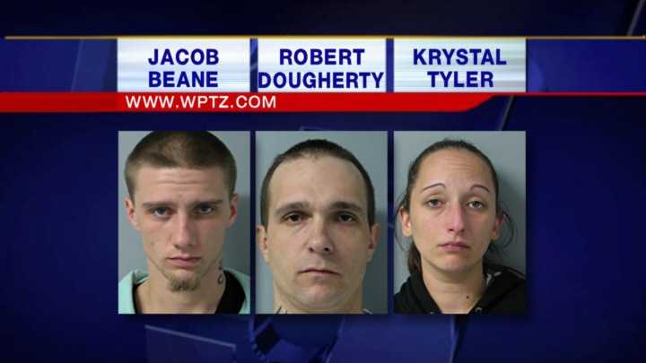 Three people are behind bars Monday night accused in a South Burlington murder.
