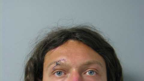South Burlington Police arrested Benjamin J. Alley on Thursday after he was caught looking into homes on Hadley Road.