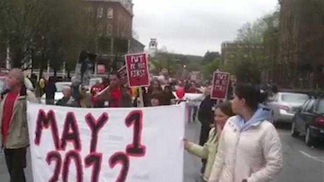 May Day Rally