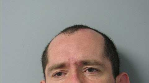 Robert Mossey is accused of breaking into a South Burlington firefighters car on Wednesday.
