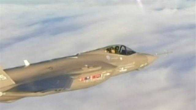City councils take up issue of fighter jets