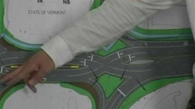 V-Trans has a new design for the Colchester/Winooski exit of I-89 and it's a little unusual.