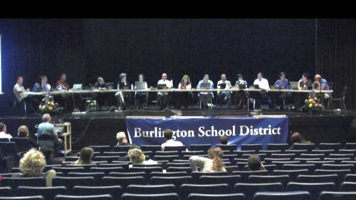 It was another late night for the Burlington school board, but this time a decisive one.