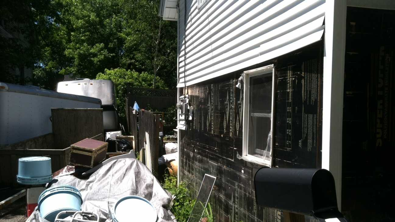 A homeowner and flood victim in Waterbury is still working to rebuild.