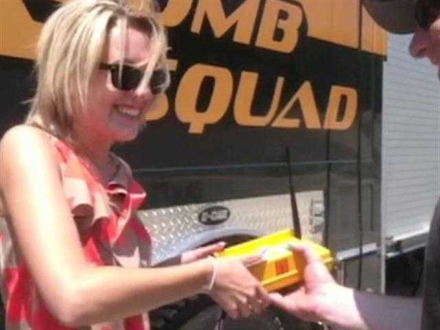 Pushing the button on an explosive with the VT State Police bomb squad! Jill will have more on this tonight.