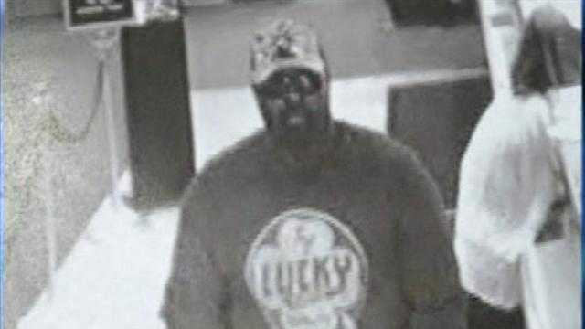 A heavyset bandit robs a bank and triggers a massive manhunt in Plattsburgh.