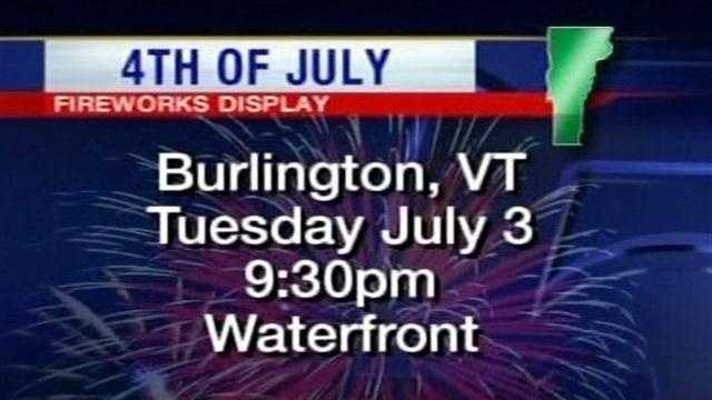 List of Fourth of July celebrations.
