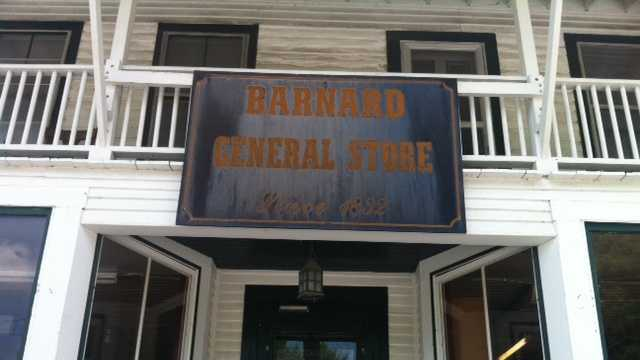 The Barnard General Store in Barnard, Vermont.