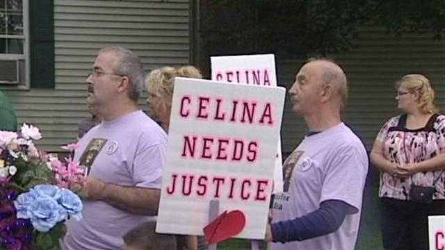 West Stewardstown, N.H., residents say they can't believe it's been a year since the Celina Cass nightmare began. Thursday night they held a vigil in her honor