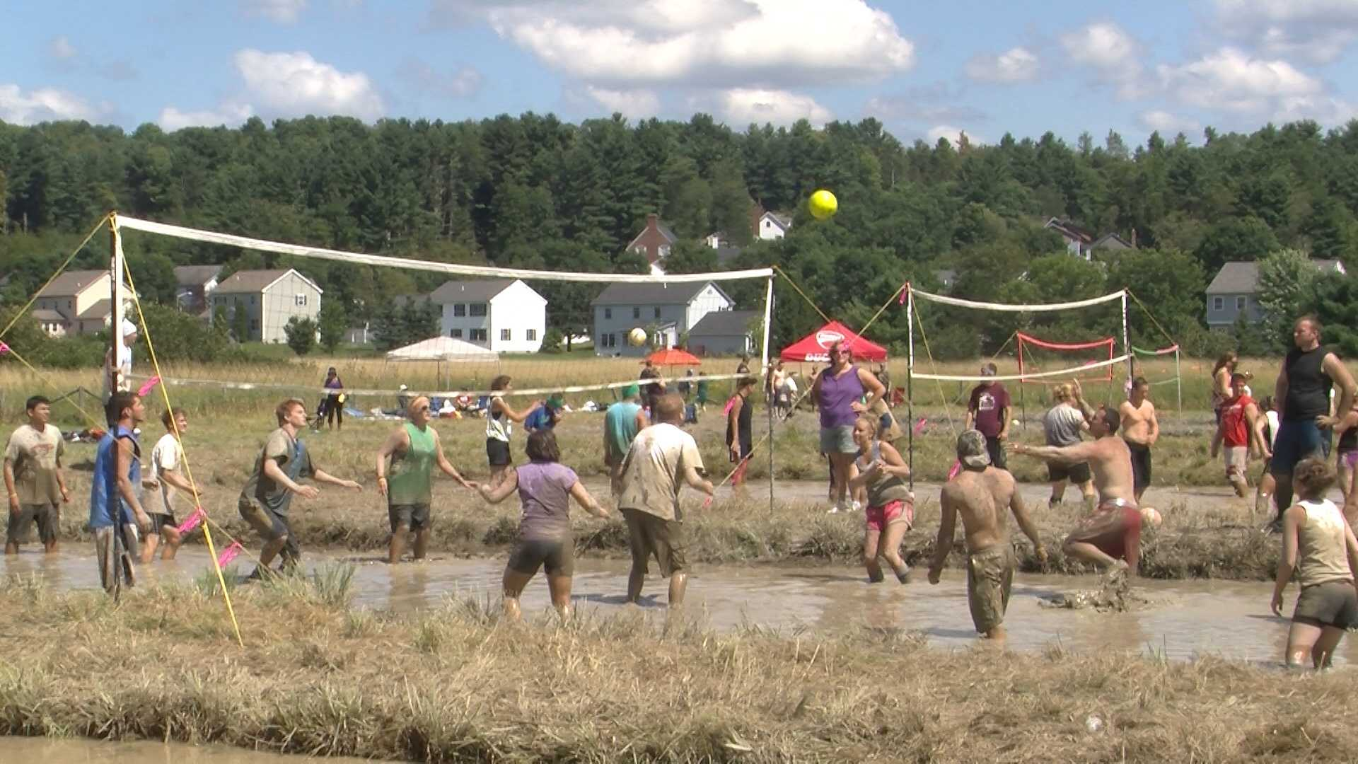 Leaders with the Epilepsy Foundation of Vermont said they hoped to raise about $20,000 between two mud volleyball events.