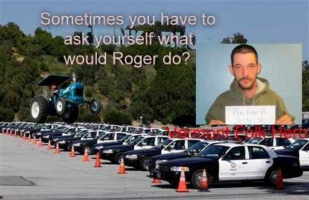 """Sometimes you have to ask yourself what would Roger do?"""