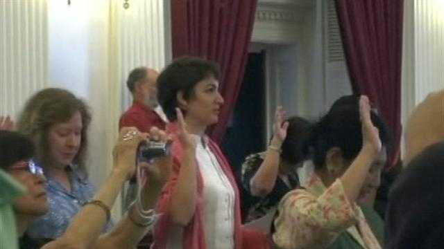 Vermont welcomes dozens of America's newest citizens in Montpelier on Monday.