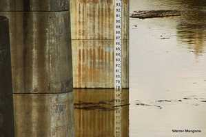 Springfield Dam water level reached 78 Feet.