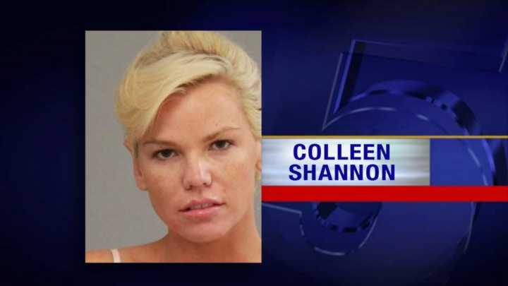 Colleen Shannon reportedly tried to smuggle her boyfriend into the country from Canada.