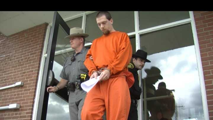 A Chateaugay man is accused of murdering his father.