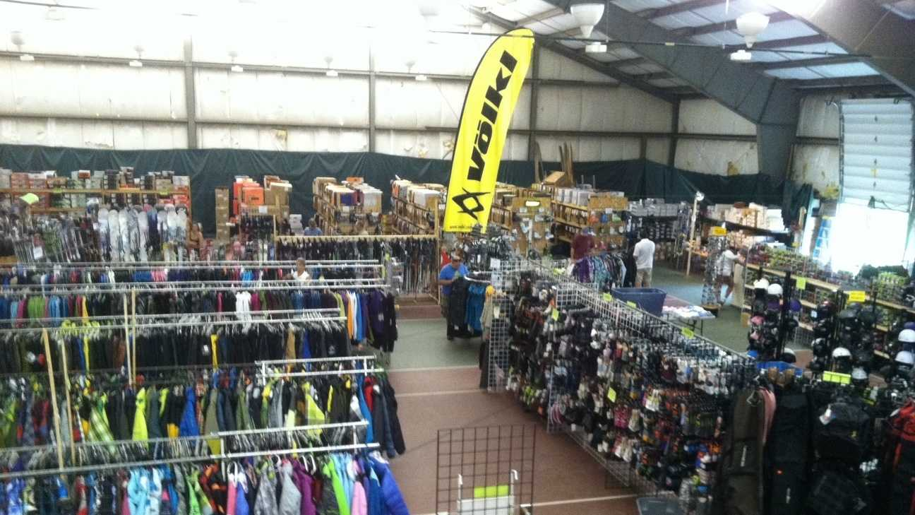 A million dollars worth of ski and snowboard gear is now on sale at Bolton Valley, billed as the largest such sale in Vermont.