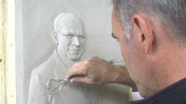 Sculptor Lawrence Nolan is getting a lot of attention because of what he thinks should be done with a sculpture of late Penn State football coach Joe Paterno.