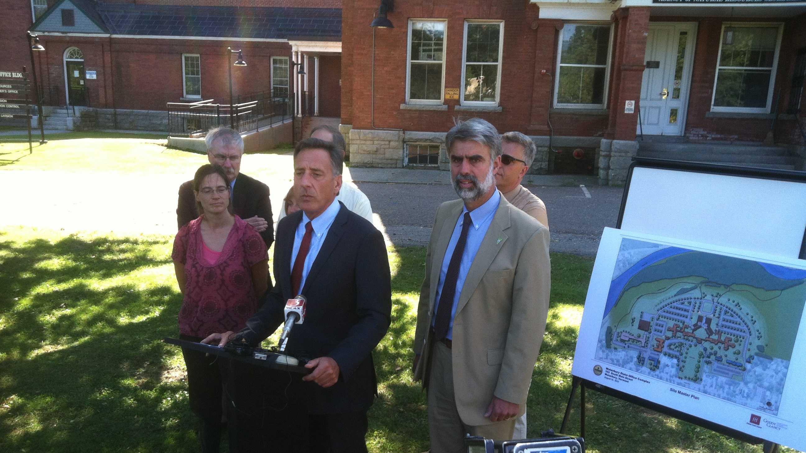 091212 Vt. governor: FEMA funding will remain uncertain - img