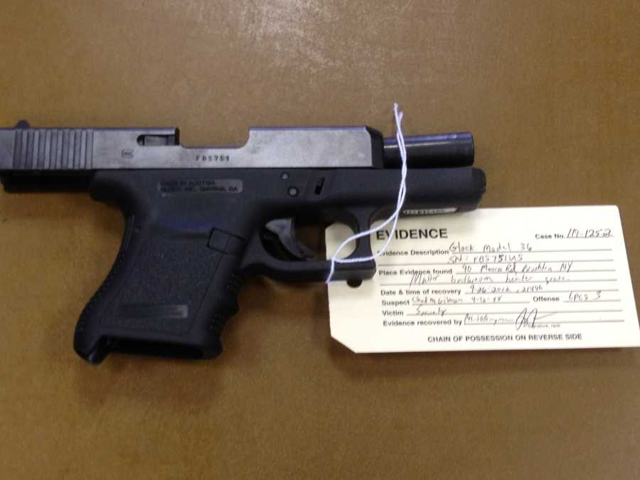 A Glock was collected at the bust as evidence.