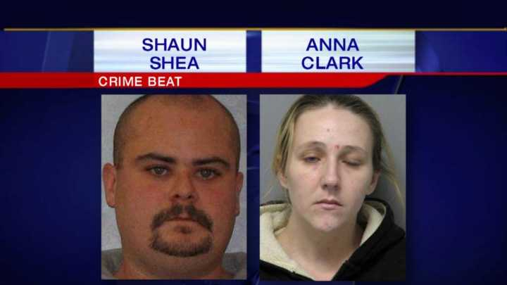 Both Shaun Shea, 34, and Anna Clark, 28, were previously charged in heroin-related cases.