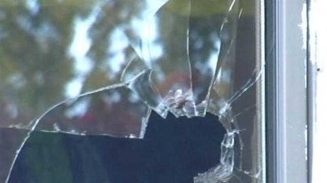 Three teens in St. Albans are accused of vandalizing a church by way of veritable a glass smashing spree.  Three 16 year-olds allegedly broke in a door at St. Albans Holy Angels Church, smashed the windshield of a school bus, and more.