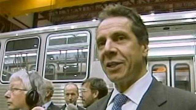 New York Governor Andrew Cuomo toured the North Country on Wednesday to see how more than $100 million is being spent.