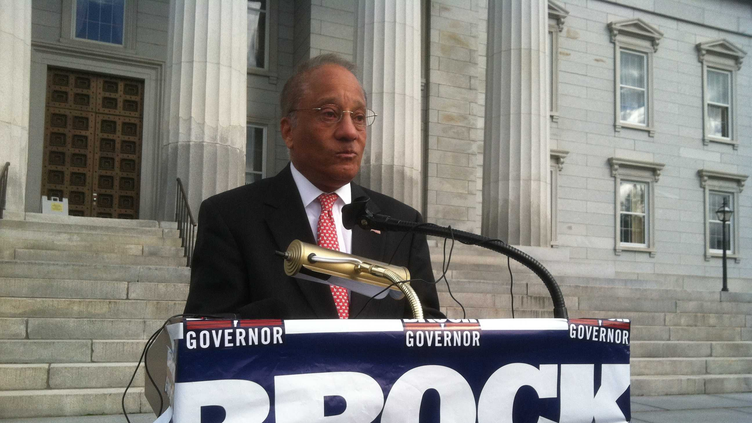 Gubernatorial Candidate Randy Brock slams Shumlin for being out of office for nearly 4 months.