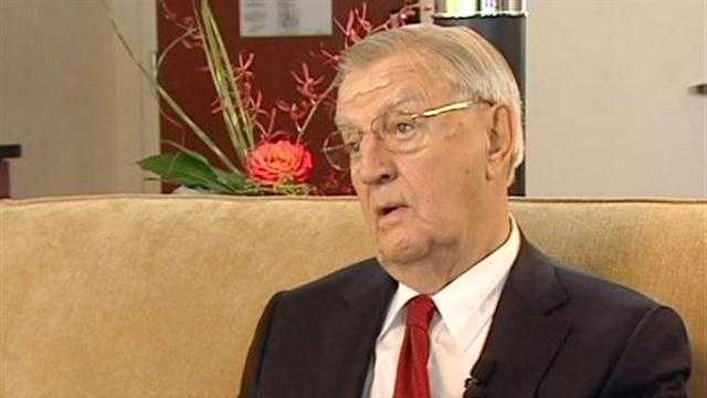 Former Vice President Walter Mondale told New England Cable News he expects a feisty exchange in Thursday night's debate between current Vice President Joe Biden and the man who wants his job, Mitt Romney's running mate, Paul Ryan.