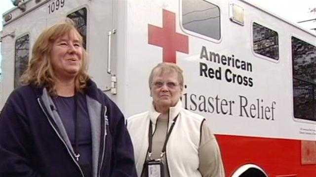 Red Cross Volunteers