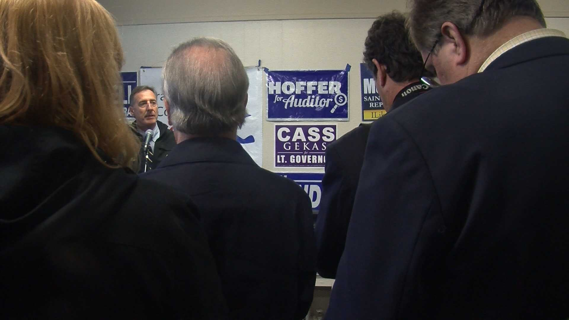 Democrats in Franklin County, Vt., pump up the volume to get out the vote.