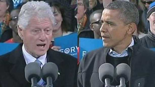 Clinton joins Obama for final campaign push in NH