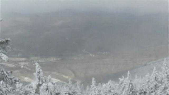 Killington fired up snow guns and opened up two trails to the public to mark the beginning of their season.