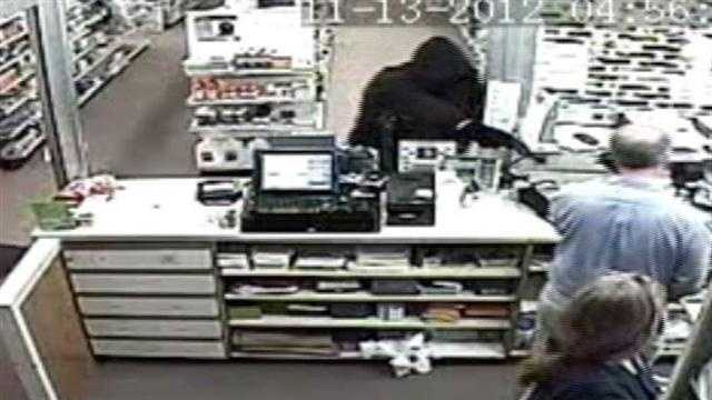 Police are searching for a heavy-set man and around 6 feet tall who robbed a pharmacy in Enosburg Tuesday evening. Once the man entered the store wearing all black, the pharmacist knew exactly what to expect