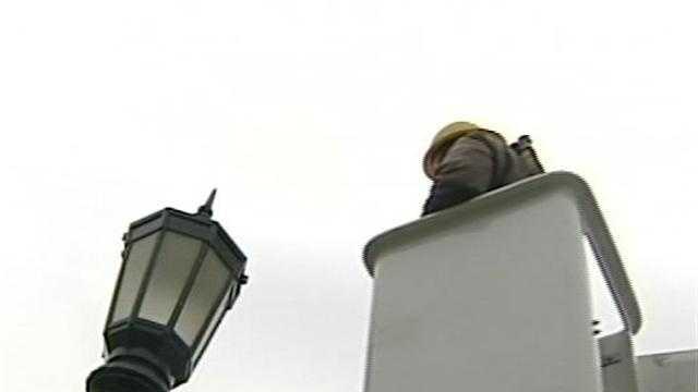 UVM installs environmentally friendly lights
