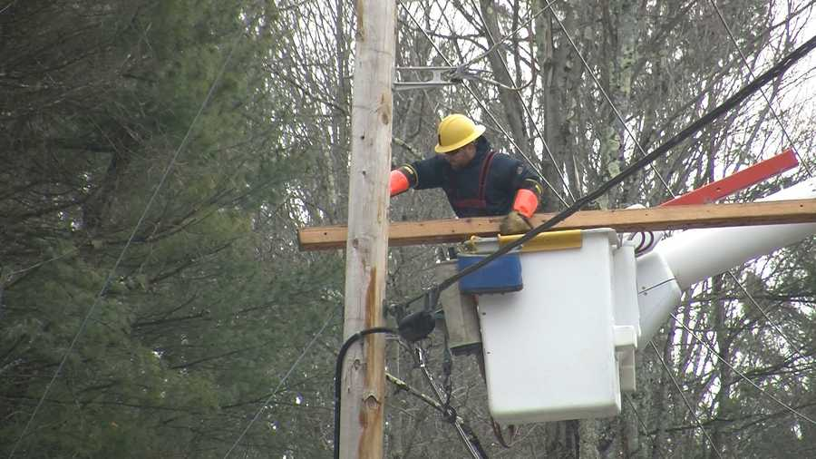 At its height, Green Mountain Power reported nearly 40,000 customers without electricity.