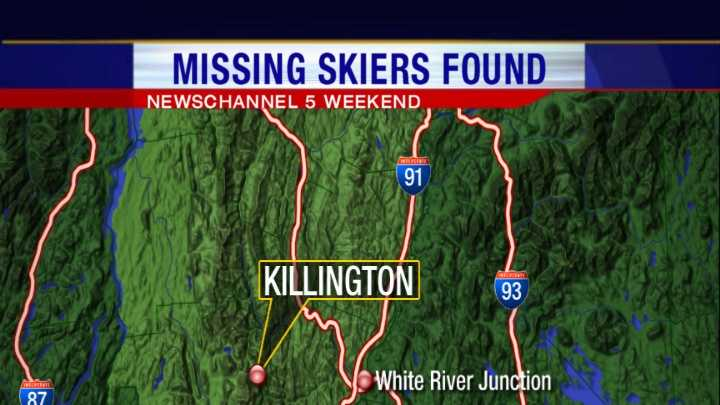 123012 Skier, 11-year-old son rescued at Pico Mountain - img