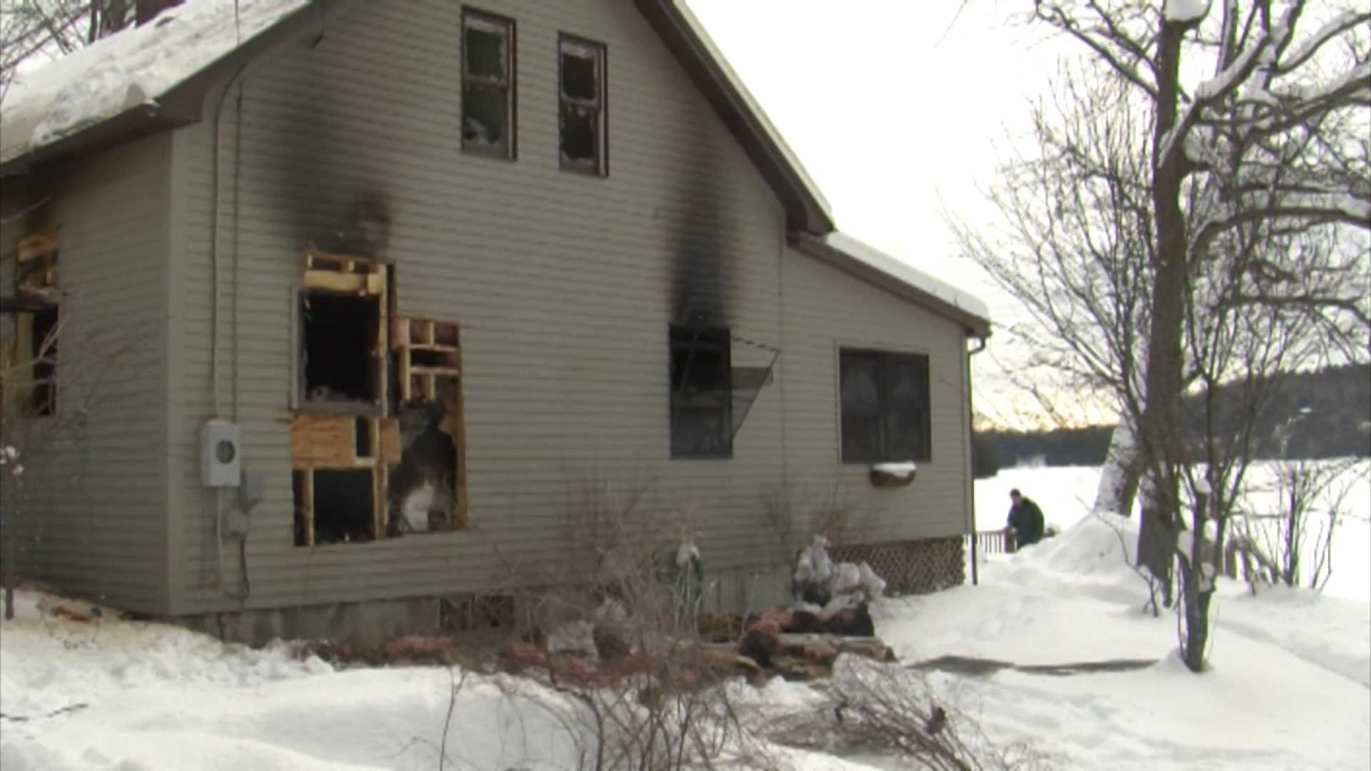 010313 Officials: Leicester fire not suspicious - img