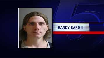 Randy Bard is charged with two counts of accessory to assault and robbery and two counts of accessory to burglary.