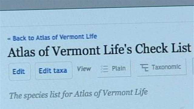 The Vermont Center for Ecostudies launched an exciting project this week to identify and map every living thing in the state.