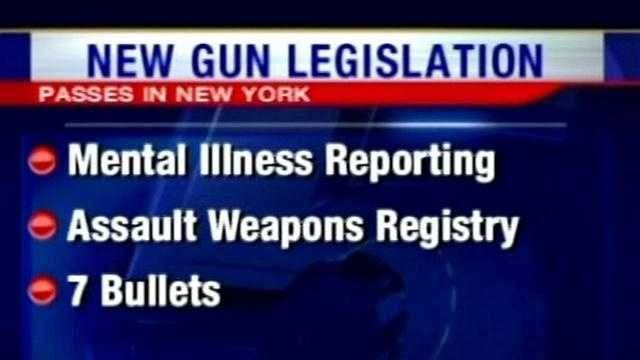 The new gun bill easily passed the New York Assembly and Senate, and Tuesday afternoon it was signed into law by Gov. Andrew Cuomo.
