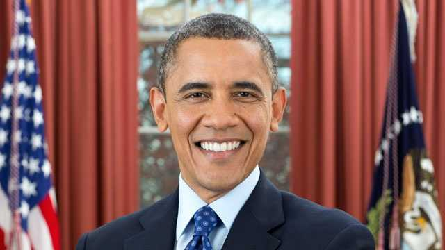 President Obama's official portrait