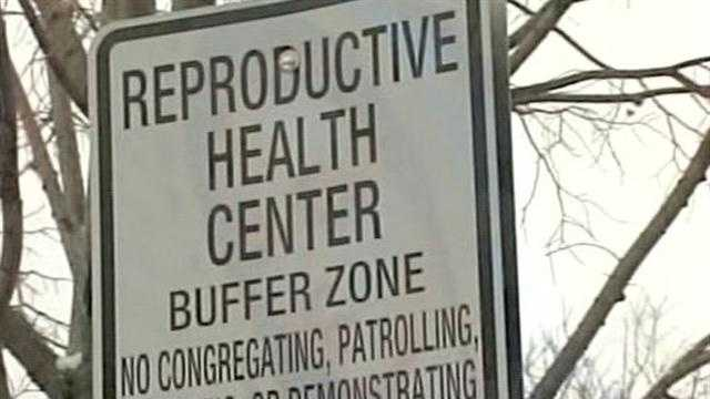 Buffer Zone sign