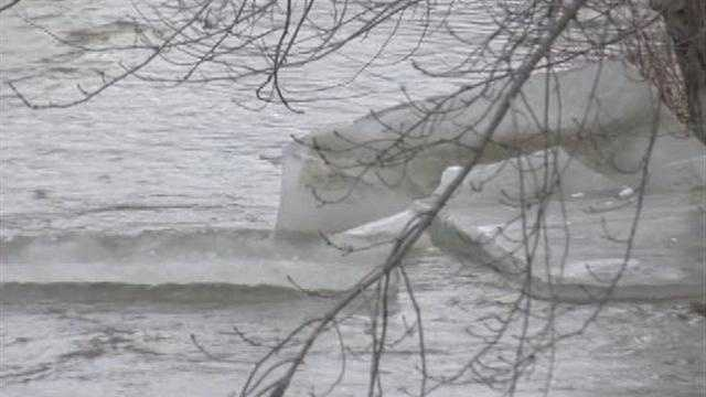 Emergency crews are monitoring Vermont's waterways, after unseasonably warm temperatures and rains cause ice jams around the state.