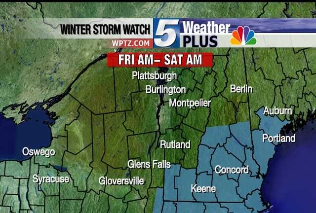 Snow starts to roll in Friday morning as two storms merge. The heaviest snowfall will happen mid-morning through the evening. The storm is expected to wrap up Saturday morning leaving 6-inches of snow across the region. Sign-up here to receive weather email alerts.