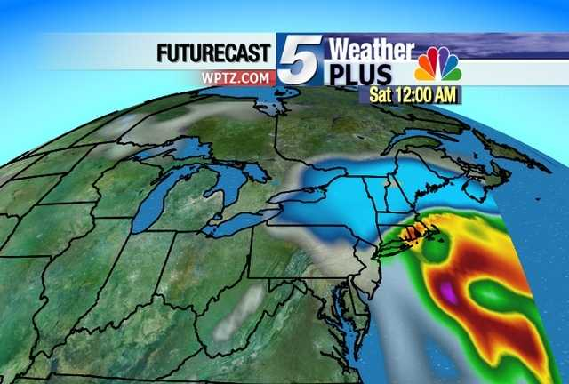 A look at the storm predicted to roll through the region over the next 24 to 48 hours.