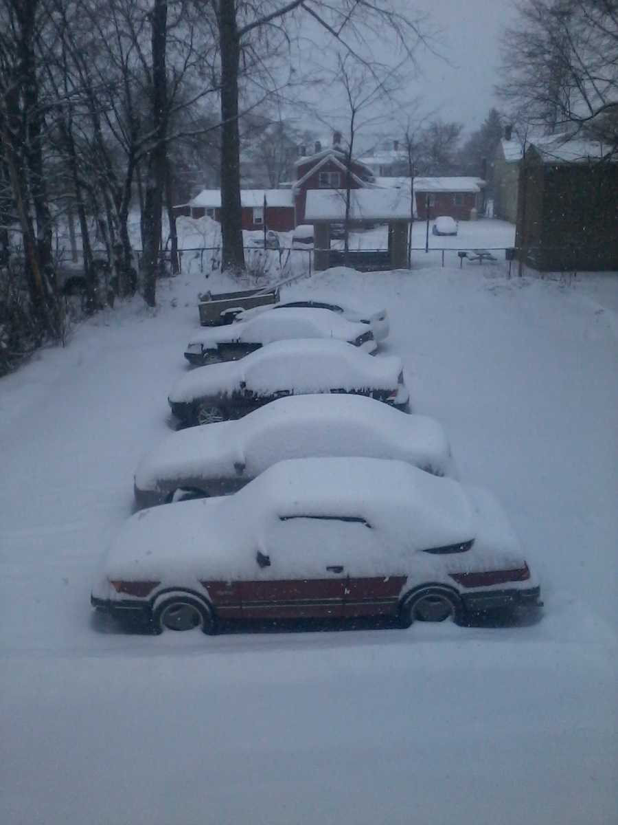 Driveways are staying filled today!